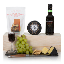 Port & Cheese Selection Hamper Hamper