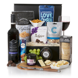 Night In For Him Luxury Hamper Hamper
