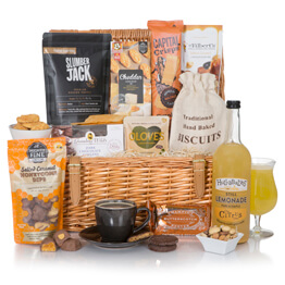Luxury Alcohol Free Basket Hamper Hamper