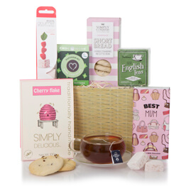 Tea and Treats For Mum Hamper