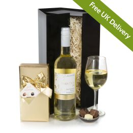 White Wine Hamper Hamper