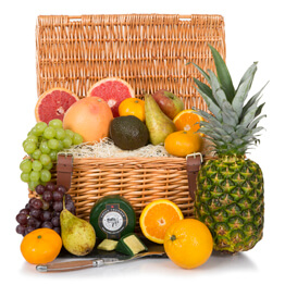 Luxury Fruit Basket With Prosecco Hamper