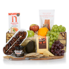 Fruit, Cheese & Snacks Hamper Hamper