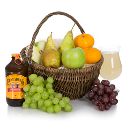 Traditional Fruit Basket Hamper