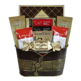 Canadian hamper delivery send luxury gift baskets to canada cookies and chocs negle Image collections