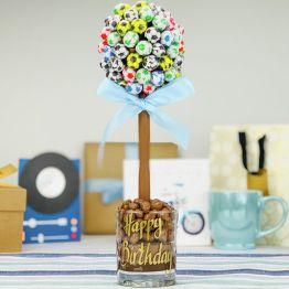 The Football Tree - 35cm  Hamper