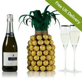 Prosecco Pineapple For Her Hamper