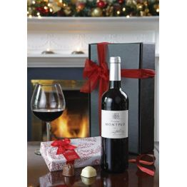 Red Wine & Chocs Hamper