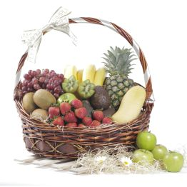 Exotic Fruit Basket Hamper
