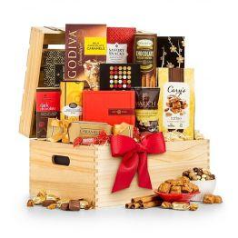 Savoury Selection Gift Basket Hamper