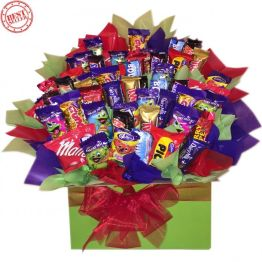 Mega Choc-A-Block Chocolate Bouquet Hamper