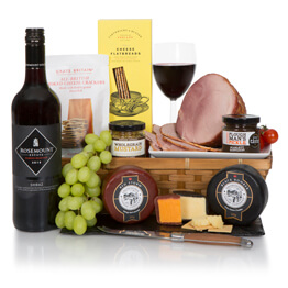 Luxury Ham & Wine Feast Hamper