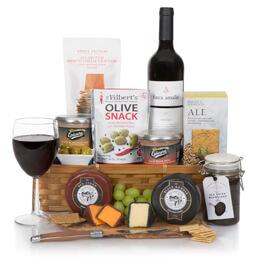 Luxury Wine, Cheese & Pate Hamper Hamper