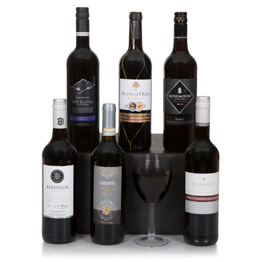 Six Bottle Red Wine Selection Hamper