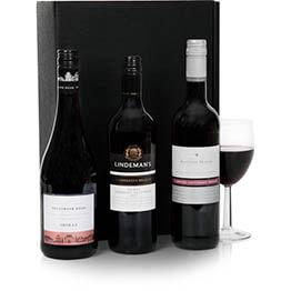 Australian Red Wine Trio
