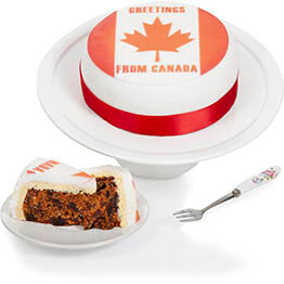 Based on  - Canadian Greetings Cake Hamper
