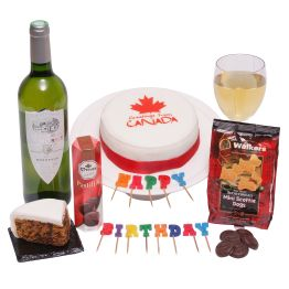 Birthday Greetings From Canada Hamper