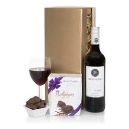 Californian Wine & Chocolates Gift Hamper