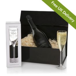 Happy 50th Birthday Prosecco Gift Hamper