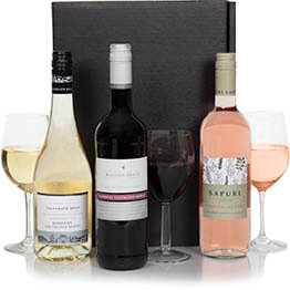 Australian Three Bottle Wine Pack Hamper
