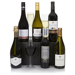 Connoisseur Six Bottle Christmas Wine Selection