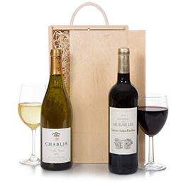 Luxury French Wine Christmas Selection Hamper
