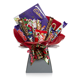 Chocolate Hearts Bouquet For Her Hamper