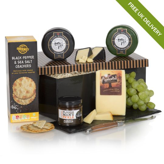 Luxury Three Cheese Hamper
