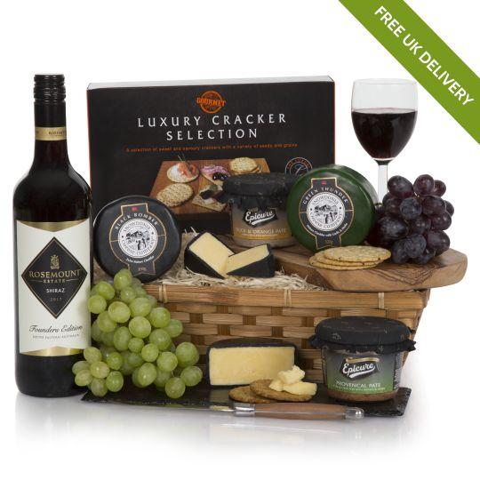 Wine Cheese Pate Hamper