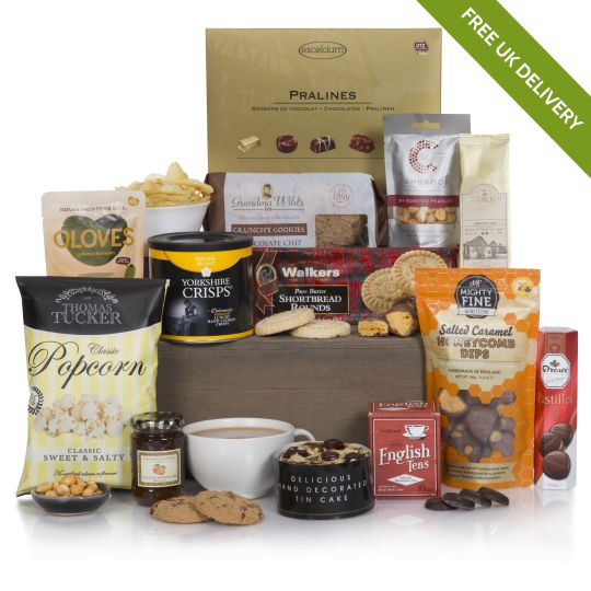 Luxury hampers food gifts free uk delivery hamper bearing gifts hamper negle Choice Image