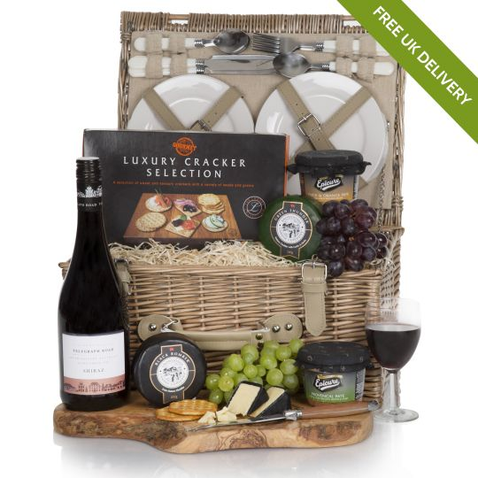 Luxury Wine, Cheese & Pate Hamper Hamper