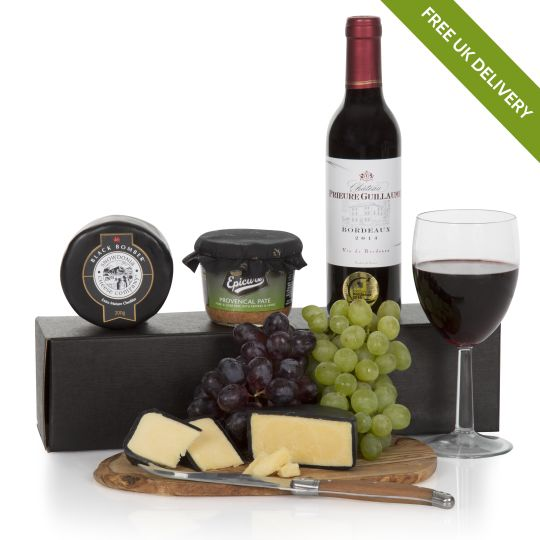 Wine Cheese Pate Gift Box