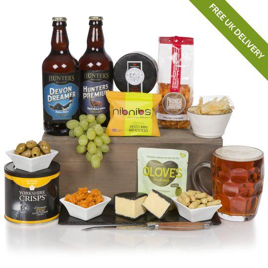 Craft Beer, Cheese & Snacks Hamper