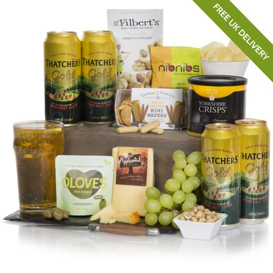The Cider & Cheese Hamper Hamper