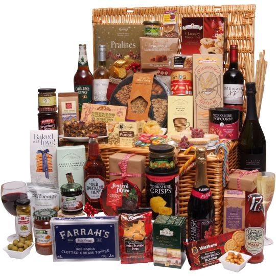 For The Family At Christmas Christmas Food Hampers