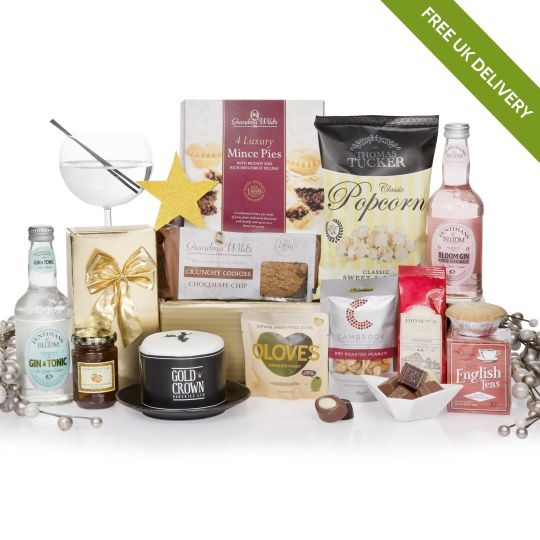 Bearing Gin Gifts Christmas Hamper Hamper
