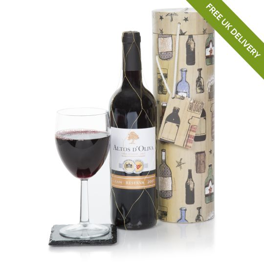 Gentleman's Collection Red Wine Gift Hamper