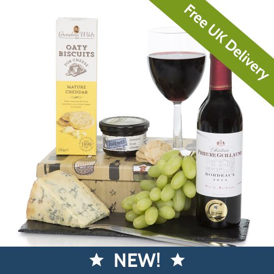 Red Wine & Stilton Hamper Hamper