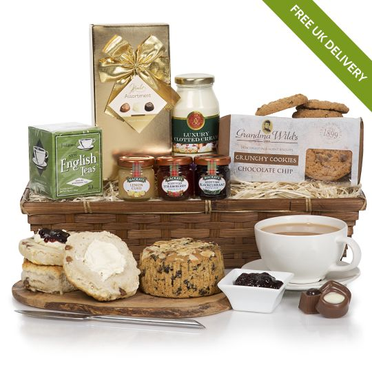 Luxury Cream Tea Gift Hamper