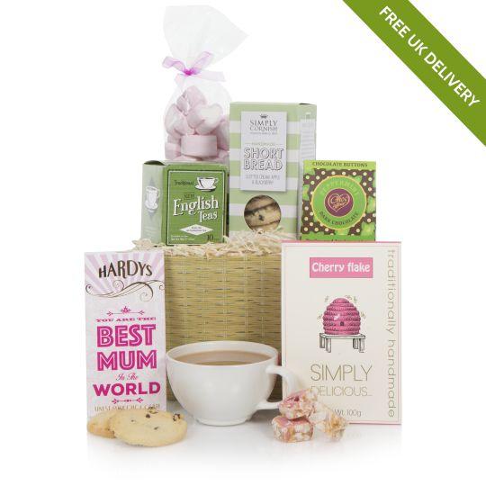 Tea & Treats For Mum Hamper