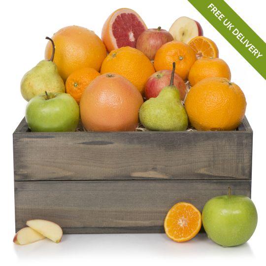 Super Fruit Hamper in Wooden Box Hamper