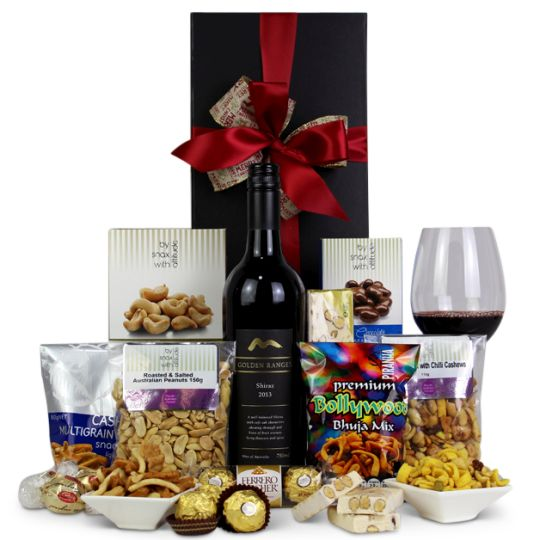Nutty Santa Hamper