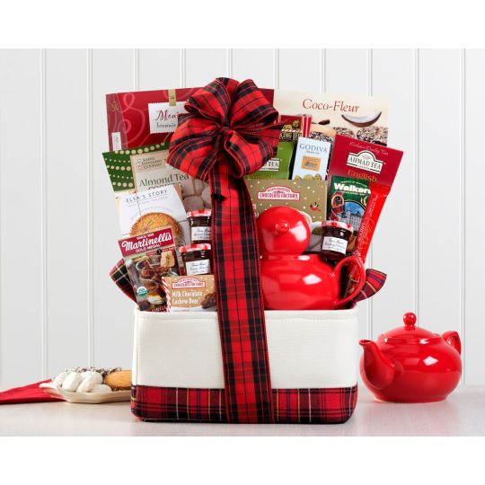 Christmas Tea Lovers Basket Hamper
