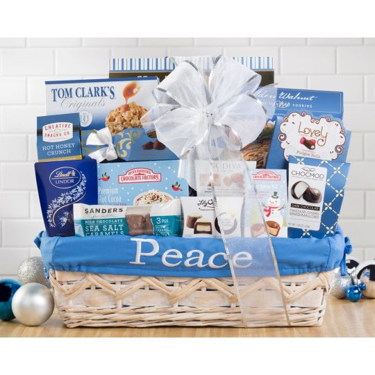 Peace and Love Basket Hamper