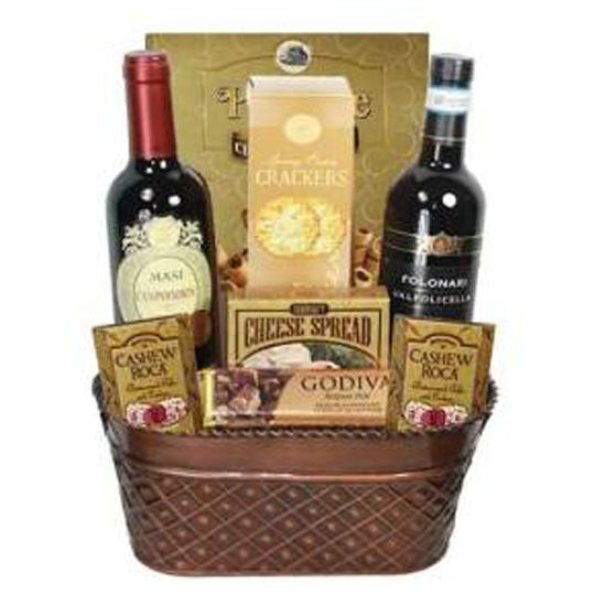 Wine Duo Hamper Hamper