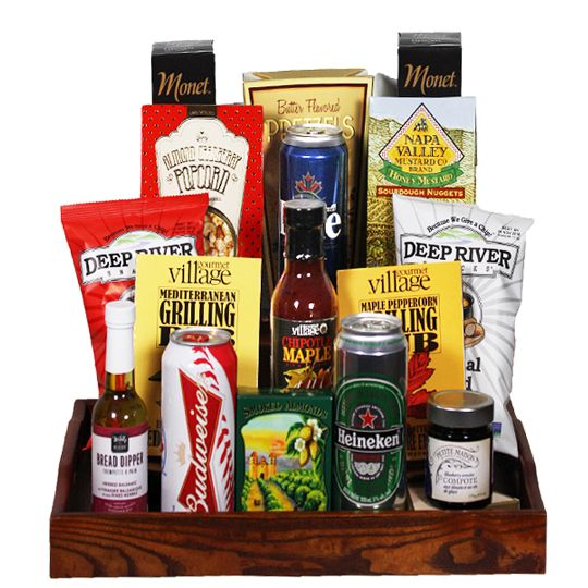 Beer & Snacks Hamper