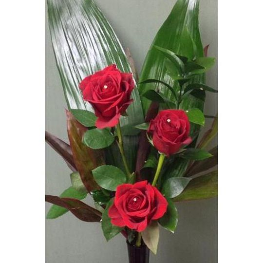 Not 1 But 3 Roses Hamper