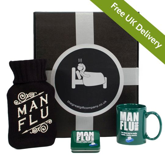 The Man Flu Gift Box Hamper