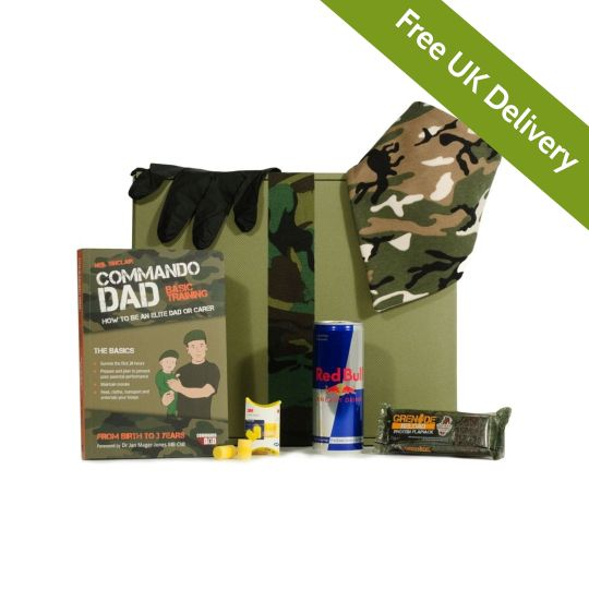 Survival Kit for New Dads Hamper