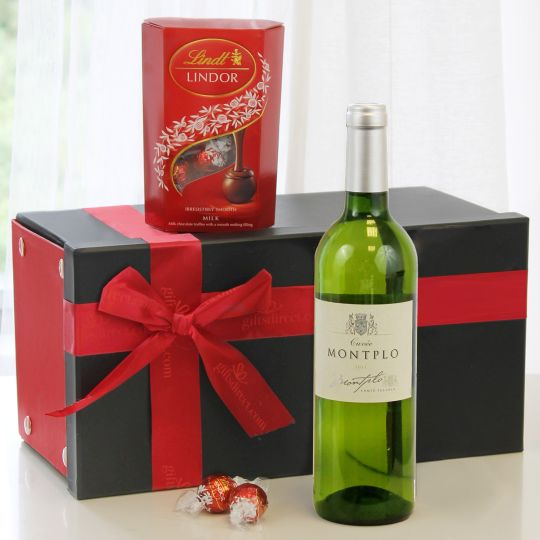Fine White Wine & Lindor Hamper